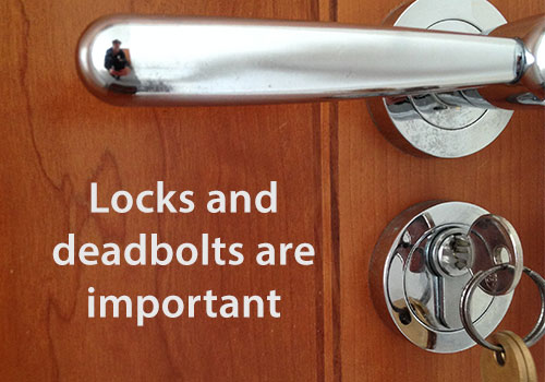 Deadbolts and locksmith tips